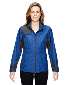 Nauticl Blu 413 Ladies' Interactive Sprint Printed Lightweight Jacket