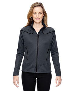 Carbon 456 Ladies' Interactive Cadence Two-Tone Brush Back Jacket
