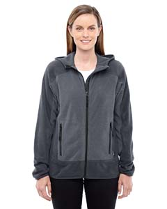Carbon/ Blck 456 Ladies' Vortex Polartec Active Fleece Jacket