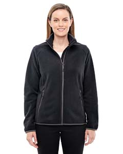 Blck/ Carbon 703 Ladies' Vector Interactive Polartec Fleece Jacket