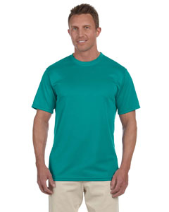 Teal 100% Polyester Moisture-Wicking Short-Sleeve T-Shirt