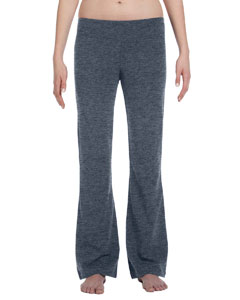Deep Heather Women's Cotton/Spandex Fitness Pant