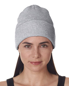 Ash Adult Knit Beanie with Cuff