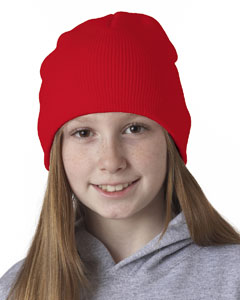 Blaze Orange Knit Beanie