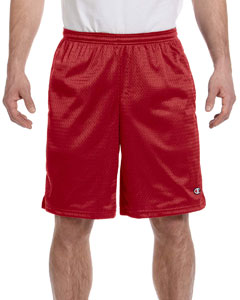 Scarlet 3.7 oz. Long Mesh Shorts with Pockets