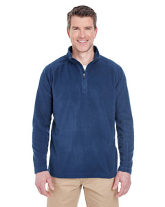 Navy Adult Cool & Dry Quarter-Zip Microfleece