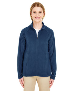 Navy Ladies Cool & Dry Full-Zip Micro-Fleece