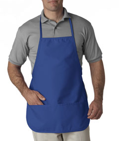 Royal Large 2-Pocket Bib Apron
