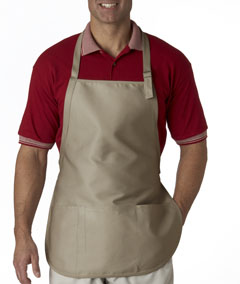 Tan 3-Pocket Apron with Buckle