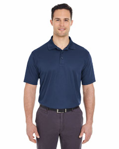 Navy Men's Tall Cool & Dry Mesh Piqué Polo