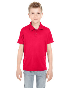 Red Youth Cool & Dry Mesh Piqué Polo