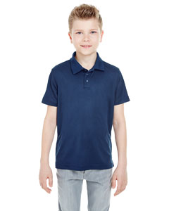 Navy Youth Cool & Dry Mesh Piqué Polo