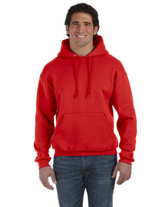 True Red 12 oz. Supercotton™ 70/30 Pullover Hood