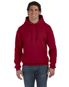 Maroon 12 oz. Supercotton™ 70/30 Pullover Hood