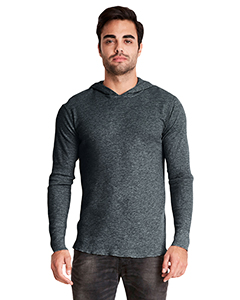 Heather Charcoal Adult Thermal Hoody
