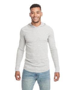 Heather Gray Adult Thermal Hoody