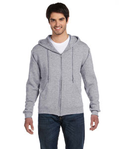 Athletic Heather Adult 12 oz. Supercotton™ 70/30 Full-Zip Hood