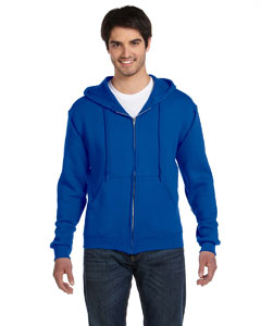 Royal Adult 12 oz. Supercotton™ 70/30 Full-Zip Hood