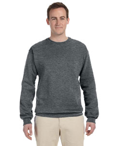 Athletic Heather Adult 12 oz. Supercotton™ 70/30 Fleece Crew