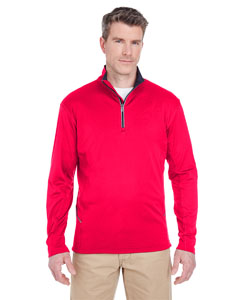 Red Men's Cool & Dry Sport Quarter-Zip Pullover