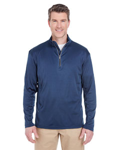 Navy Men's Cool & Dry Sport Quarter-Zip Pullover