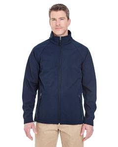 Navy Men's Soft Shell Jacket