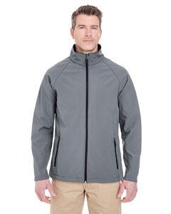 Mgn Gry/ Mgn Gry Men's Soft Shell Jacket