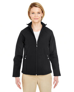 Black Ladies' Soft Shell Jacket