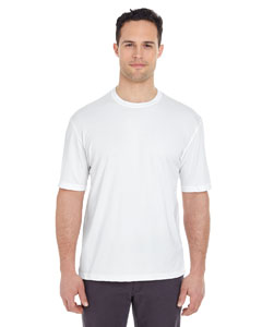 White Men's Cool & Dry Sport Tee