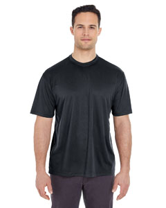 Black Men's Cool & Dry Sport Tee