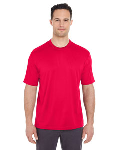 Red Men's Cool & Dry Sport Tee