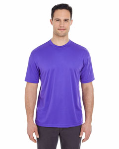 Purple Men's Cool & Dry Sport Tee