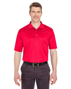 Red Men's Tall Cool & Dry Sport Polo