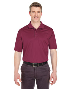 Maroon Men's Tall Cool & Dry Sport Polo