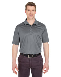 Charcoal Men's Tall Cool & Dry Sport Polo