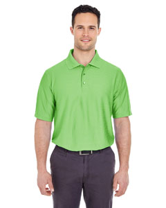 Apple Men's Cool & Dry Elite Tonal Stripe Performance Polo