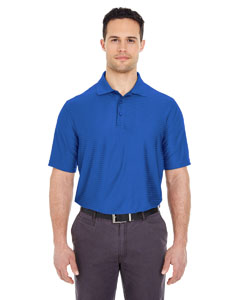 Cobalt Men's Cool & Dry Elite Tonal Stripe Performance Polo