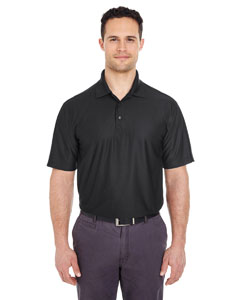 Black Men's Cool & Dry Elite Performance Polo