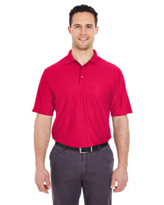 Red Men's Cool & Dry Elite Performance Polo
