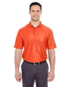 Orange Men's Cool & Dry Elite Performance Polo
