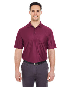 Maroon Men's Cool & Dry Elite Performance Polo