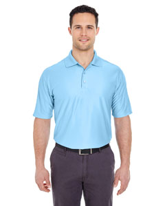 Columbia Blue Men's Cool & Dry Elite Performance Polo