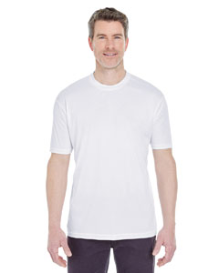 White Men's Cool & Dry Sport Performance Interlock Tee