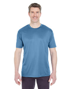 Indigo Men's Cool & Dry Sport Performance Interlock Tee