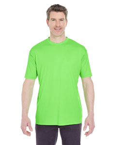Lime Men's Cool & Dry Sport Performance Interlock Tee