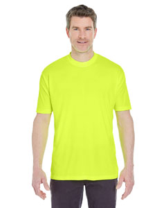 Bright Yellow Men's Cool & Dry Sport Performance Interlock Tee