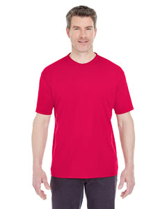 Red Men's Cool & Dry Sport Performance Interlock Tee