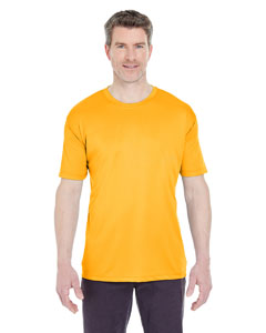 Gold Men's Cool & Dry Sport Performance Interlock Tee