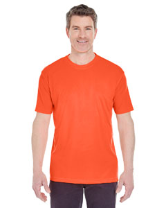 Orange Men's Cool & Dry Sport Performance Interlock Tee