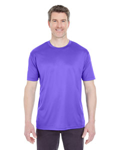 Purple Men's Cool & Dry Sport Performance Interlock Tee